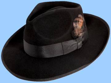 3f9a76a0b95bf Zoot Suit Hat - Zoot Fedora with Teardrop Crown